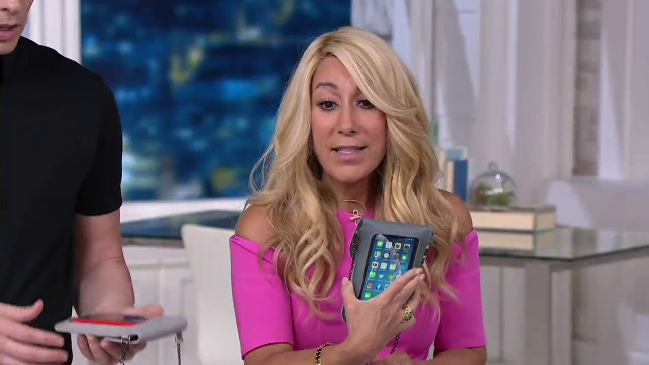 best service d68c7 5f9d7 Cell Phone Purse w/ Touch Screen Easy Access by Lori Greiner on QVC