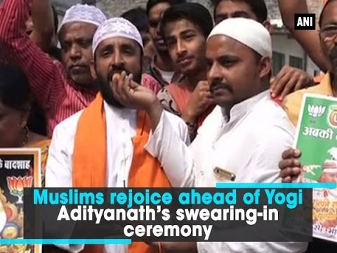 Image result for Yogi Adityanath with muslims