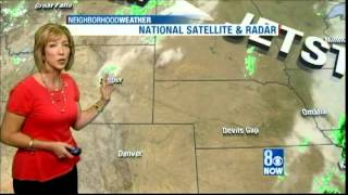 Halloween 2013, Sherry Swensk Weathercast, KLAS-TV 8 News Now, Las Vegas