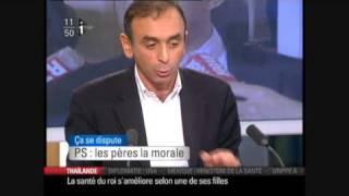 Zemmour sur Mitterand   Impunité des élites   Pédophilie   Tourisme sexuel  17/10/2009