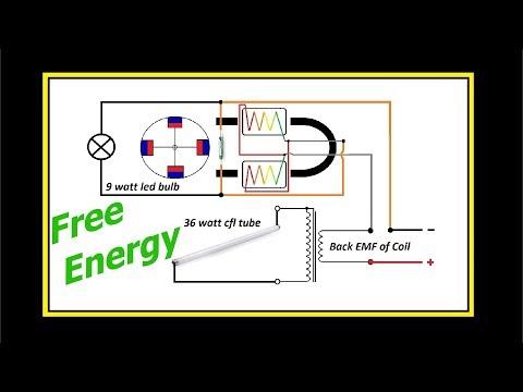 Free Energy Plasma VS Back EMF Experiment.7