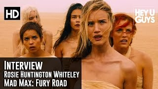 Rosie Huntington-Whiteley Interview - Mad Max: Fury Road