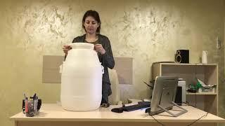 Обзор бидона из пластика 50 литров