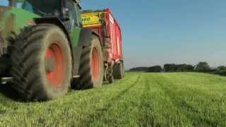Silage 2013. Picking up with Fendts and Pottingers