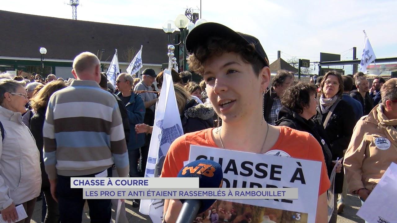 Yvelines | Chasse à courre : les pro et anti étaient rassemblés à Rambouillet