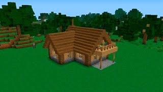 ✔ Майнкрафт Как построить дом для выживания нужны дерево и камень(Всем привет дорогие друзья. В этом видео мы будем строить не большой но хороший дом в майнкрафт для выживани..., 2016-02-02T16:42:30.000Z)