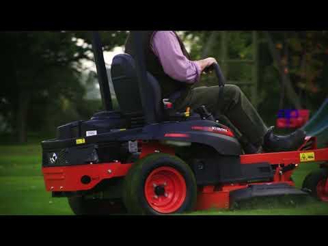 Product focus: Zero Turn Z122R Domestic Ride-on Mower Walkaround