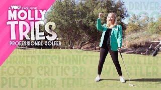 Molly Tries Promo: Professional Golfer