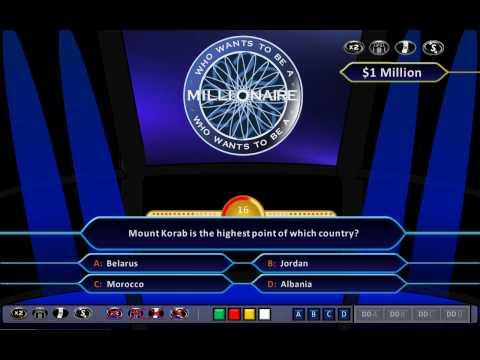 who wants to be a millionaire blank template powerpoint - spiel erstellen 39 wer wird million r 39 doovi