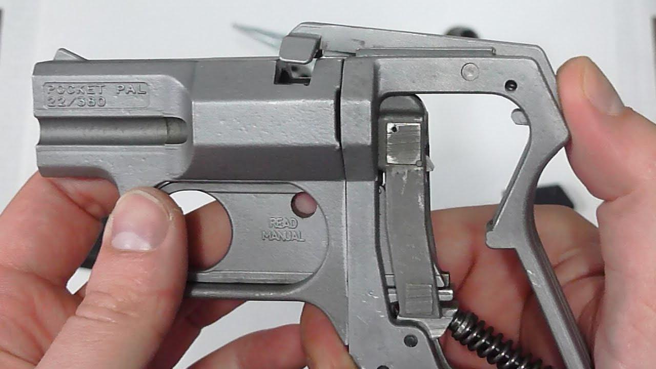 Cobray Pocket Pal: Double Caliber and Double Barreled
