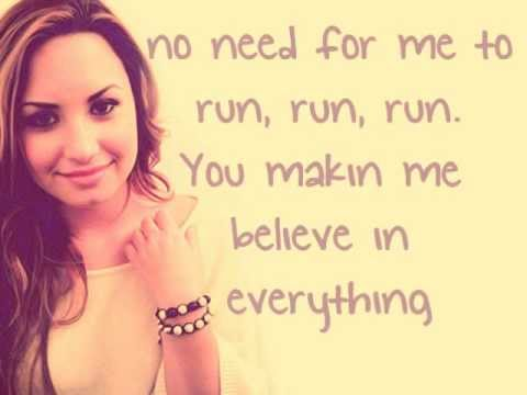 Unbroken - Demi Lovato lyrics