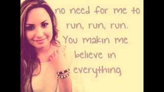 Repeat youtube video Unbroken - Demi Lovato lyrics