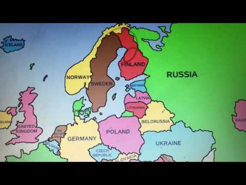 Kort Over Ramte Lande Tjernobyl Youtube