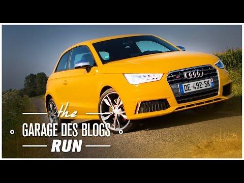 Audi S1 - les runs des garagistes - Viinz / essai routier