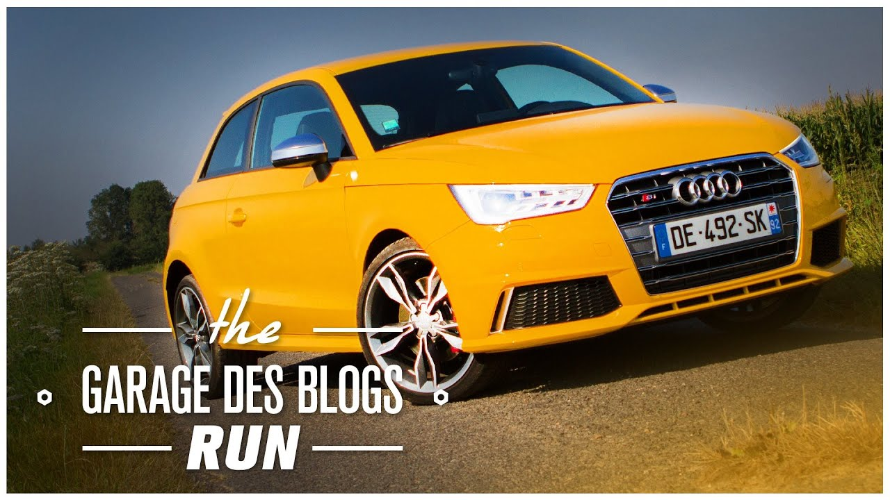 audi s1 les runs des garagistes viinz essai routier youtube. Black Bedroom Furniture Sets. Home Design Ideas