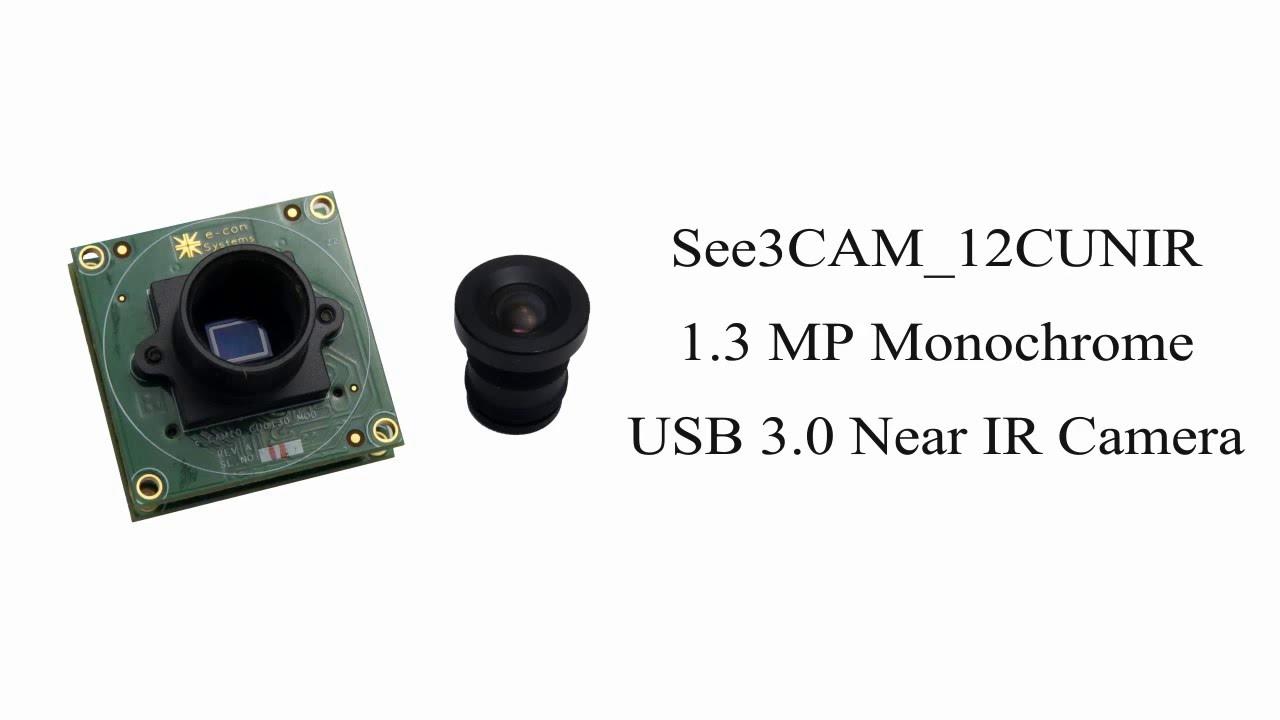 Eye Tracking Using Near Infrared (NIR) Camera - See3CAM_12CUNIR