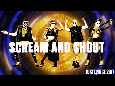 william Ft Britney Spears Scream & Shout  Just Dance 2017   Gameplay preview