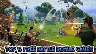 Top 5 Free Battle Royale Games - Games Like PUBG