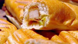 ساندوتشات تندرز الدجاج بالصلصة الحارة - ديما حجاوي