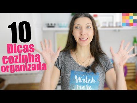 Top 10 dicas rápidas para organizar a cozinha