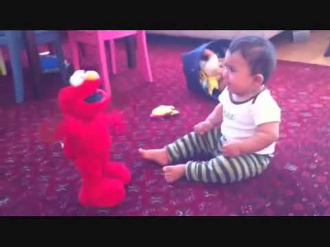 Elmo Mocks Crying Baby