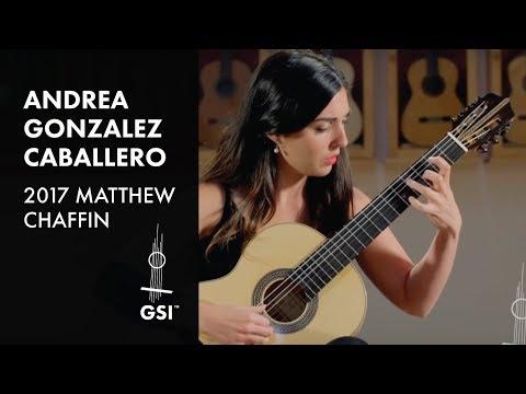 Andrea Gonzalez Caballero plays Manjón Aire Vasco - 2017 Matthew Chaffin