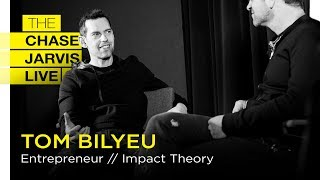 Your Mind Can Transform Your Life with Tom Bilyeu | Chase Jarvis LIVE