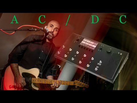 "AC/DC ""You Shook Me All Night Long"" guitar solo cover"