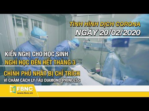 Tin Tức Dịch Corona Mới Nhất Hôm Nay 20/02/2020 | Cập Nhật Tình Hình Dịch Covid-19