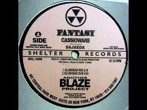 Blaze presents Cassioware feat. Sajaeda  -  Fantasy (Klubhead Mix)
