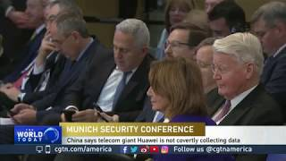 US, China, Germany debate best security policy at Munich conference