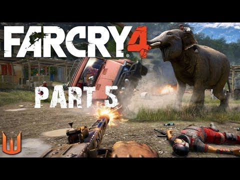 Far Cry 4 PC Gameplay Walkthrough Part 5  Elephant Rampage! End of Act One