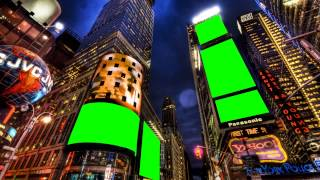 new york city in green screen free stock footage