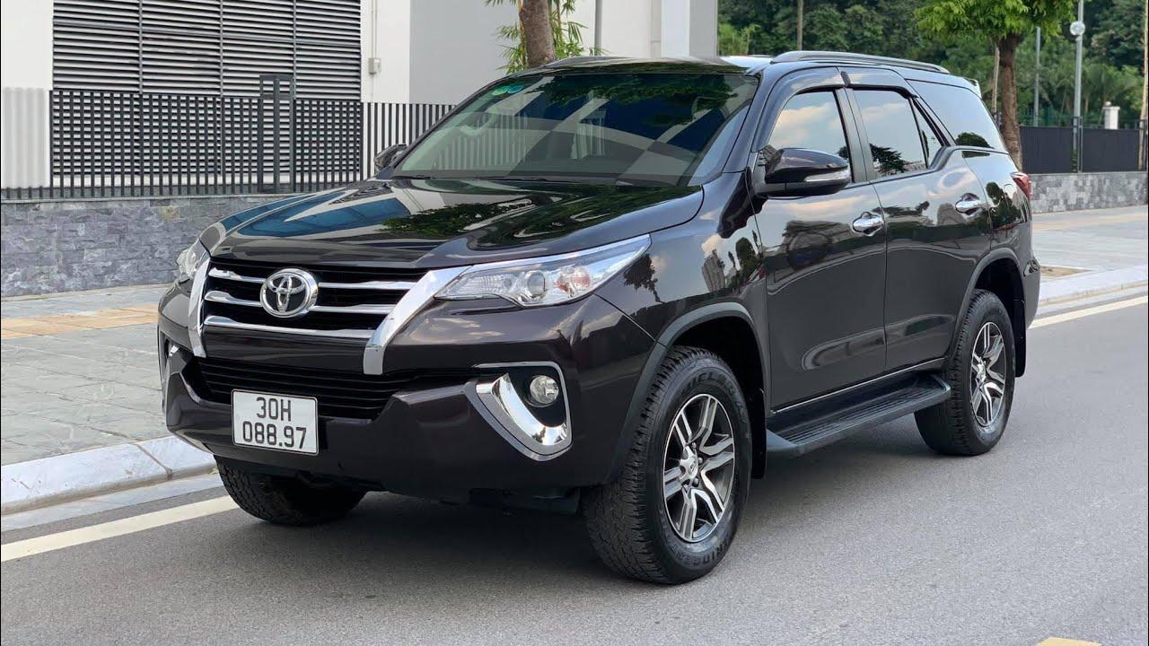 Toyota Fortuner xe ô tô cũ nhập khẩu máy 2.7V bản 1 cầu sx 2017 chạy 20.000km