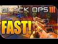 FASTEST GUN GAME in Black Ops 3! Black Ops 3 Fastest Gun Game Ever! (BO3 Shortest Gun Game)