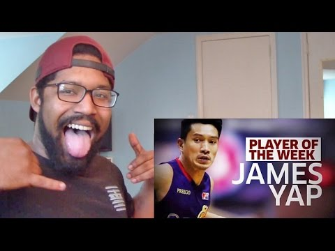 BEST CROSSOVER OF 2017! JAMES YAP PBA PLAYER OF THE WEEK REACTION