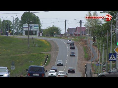 В Нефтекамске начали укладывать новые тротуары