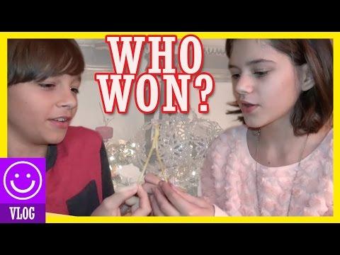 WHO WON THE WISHBONE GAME?  | THANKSGIVING 2015  |  KITTIESMAMA