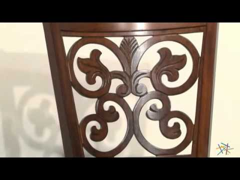 Hillsdale 30-Inch Bonaire Swivel Bar Stool - Brown Cherry - Product Review Video  sc 1 st  YouTube & Hillsdale 30-Inch Bonaire Swivel Bar Stool - Brown Cherry ... islam-shia.org