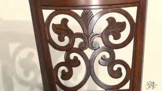 Hillsdale 30-inch Bonaire Swivel Bar Stool - Brown Cherry - Product Review Video
