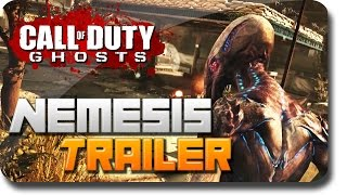 "COD Ghosts DLC Nemesis | NEW ""Nemesis"" Trailer Analysis (COD ""Exodus"" Extinction DLC)"