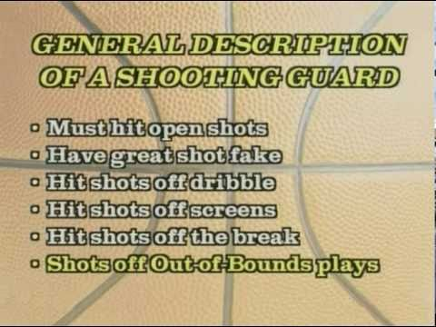 What Is A Shooting Guard? - Basketball Video