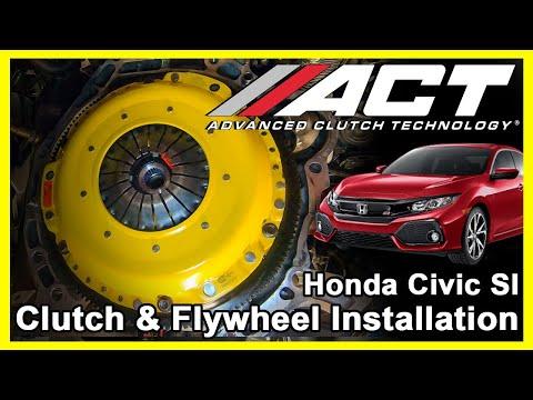 ACT Clutch Install: 2017 - 2019 Honda Civic Si 1.5L Turbo and 2017 – 2018 Honda Civic 1.5L Turbo