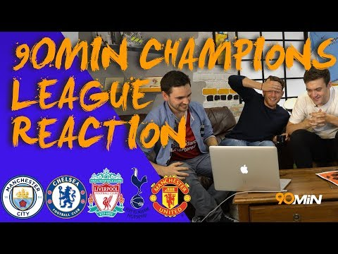 UEFA Champions League draw reaction! Spurs get Real Madrid! Is Man United's draw easiest?| 90min