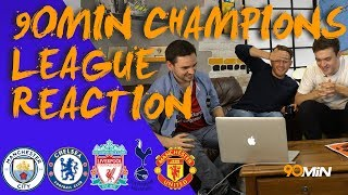 UEFA Champions League draw reaction! Spurs get Real Madrid! Is Man United