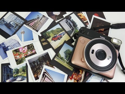 Fuji Instax SQ6 Instant Camera Review - Fun at any cost?