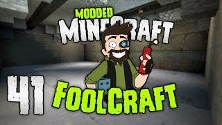 Minecraft: FOOLCRAFT | NOW we're talking BUNKER! | #41 | Modded Minecraft