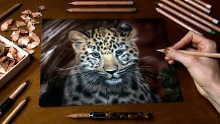 Drawing a Little Leopard - Kanika