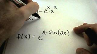 Derivatives of Exponential Functions and Examples