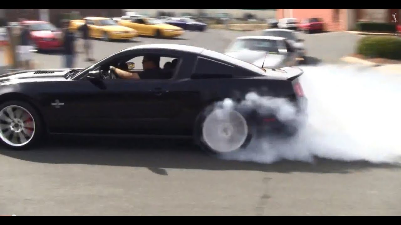 SVT Cobra Club And Pro Dyno Cruise In Leaving Show HD